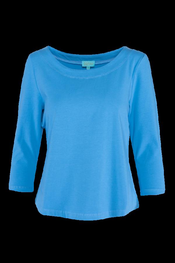 Loose Shirt 3/4 Sleeves Plain CO (LASU 2182) Singlets & Shirts Summer 21 Image 5