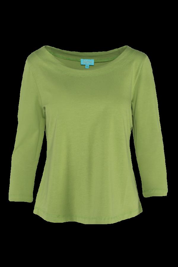 Loose Shirt 3/4 Sleeves Plain CO (LASU 2182) Singlets & Shirts Summer 21 Image 4