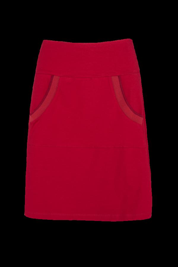 A-Line Skirt Kangaroo Plain CO (LASU 2183) Skirts Image 3