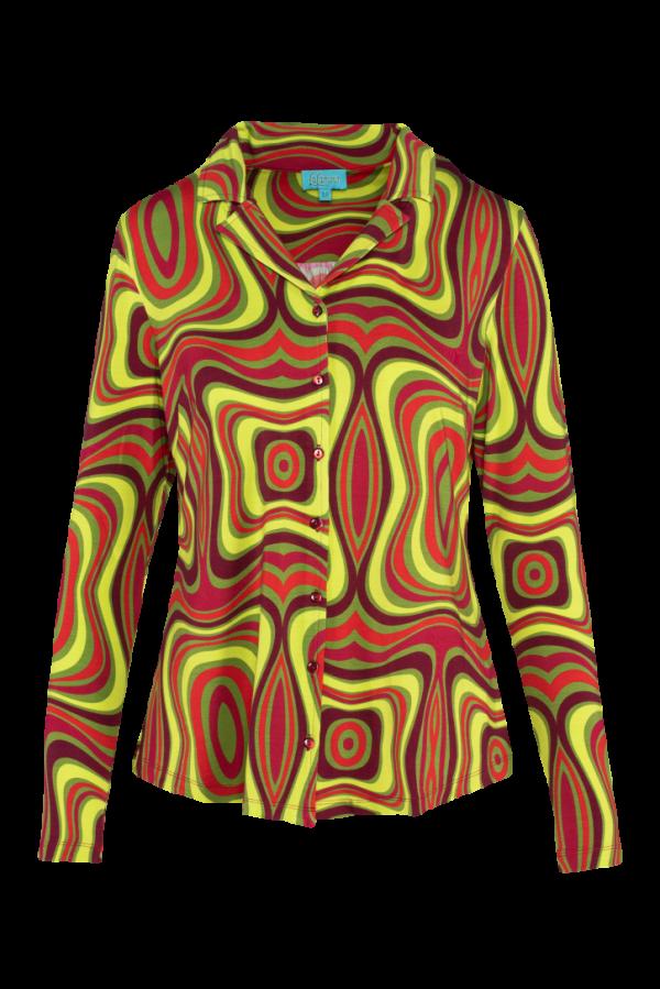 Blouse Long Sleeves Wave (LASU 2125) Blouses Image 5