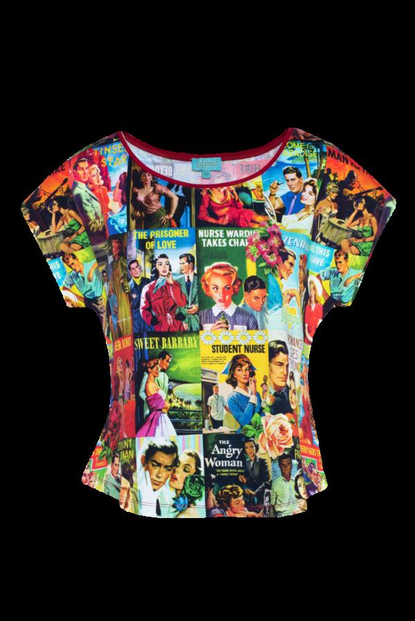 Loose Shirt Love Story (LASU 2132) Singlets & Shirts Image