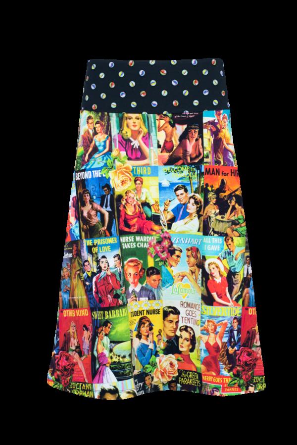 A-Line Skirt calf length Love Story (LASU 2133) Skirts Image