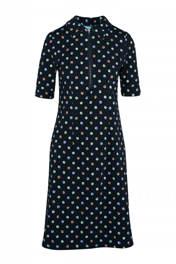 Zipper Dress Marble (LASU 2140) Dresses Summer 21 Image 6