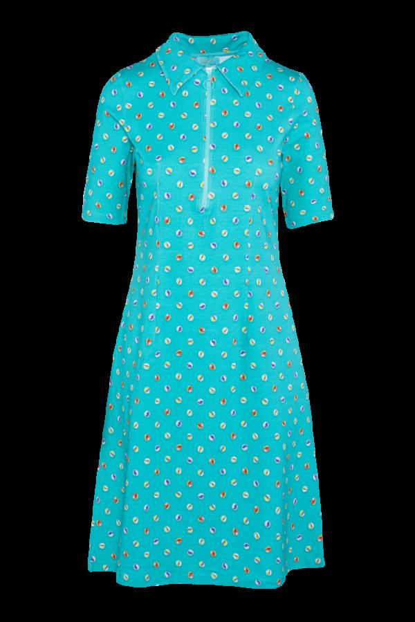 Zipper Dress Marble (LASU 2140) Dresses Summer 21 Image 5