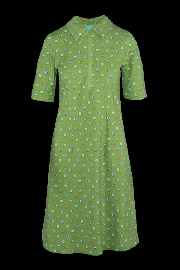 Zipper Dress Marble (LASU 2140) Dresses Summer 21 Image 2
