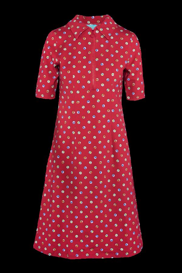 Zipper Dress Marble (LASU 2140) Dresses Summer 21 Image 3