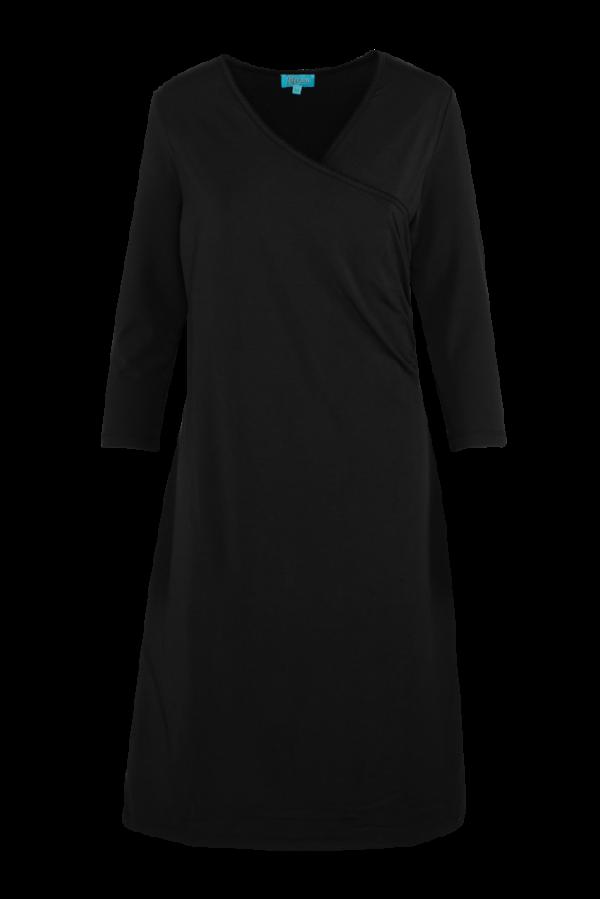 Classic Wrap Dress Plain (LASU 2150) Dresses Summer 21 Image 3