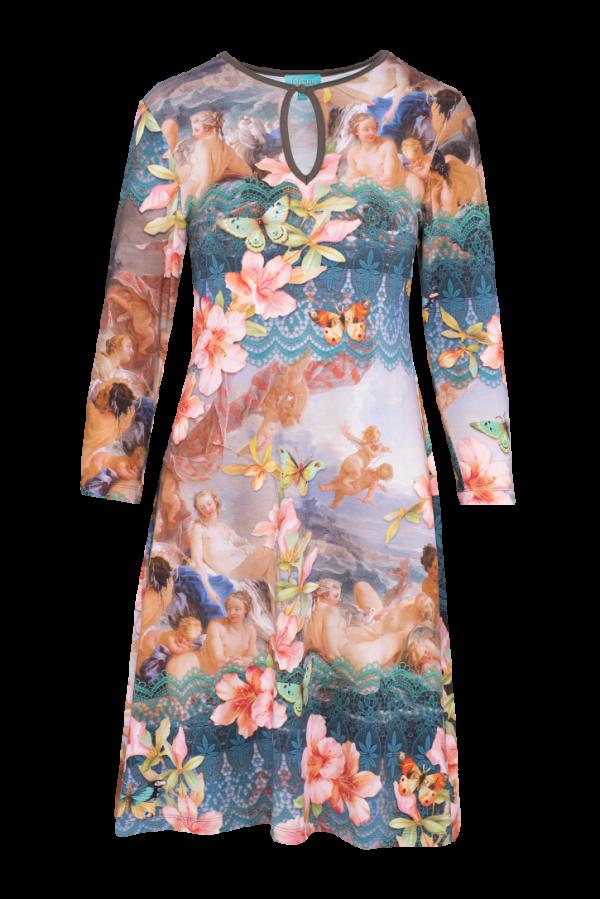 Flared Dress High Neck Venus (LASU 2111) Dresses Image 3