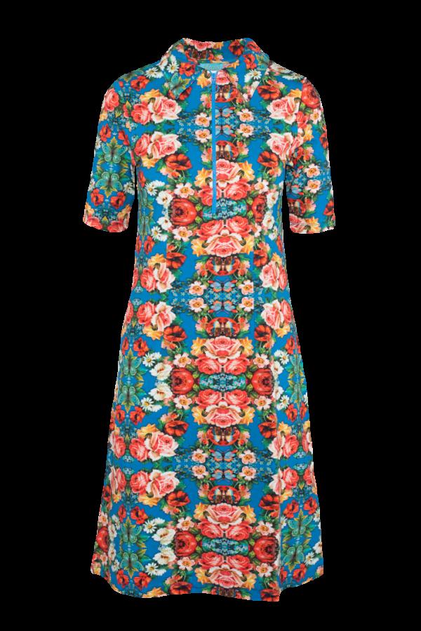 Zipper Dress Rose (LASU 2161) Dresses Image 5