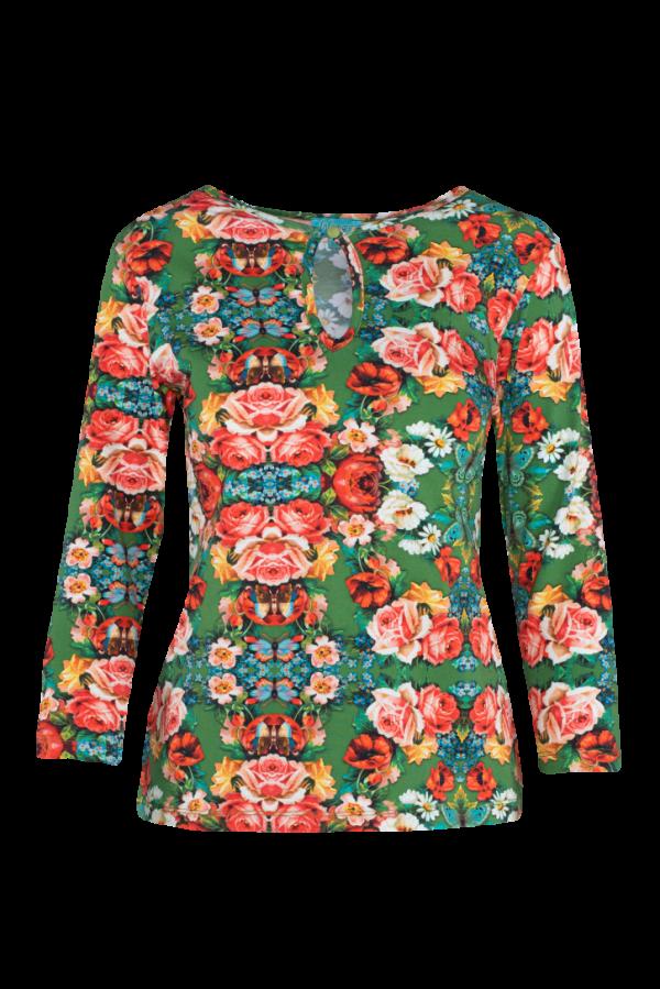 T-shirt High Neck Rose (LASU 2162) Singlets & Shirts Image 4