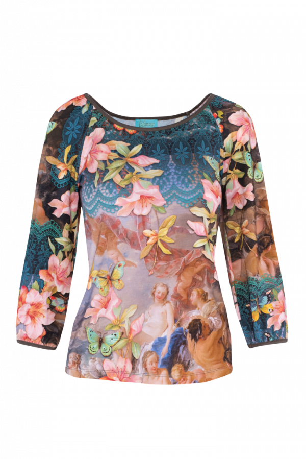 T-shirt Puffes Sleeves Venus (LASU 2112) Singlets & Shirts Summer 21 Image 3