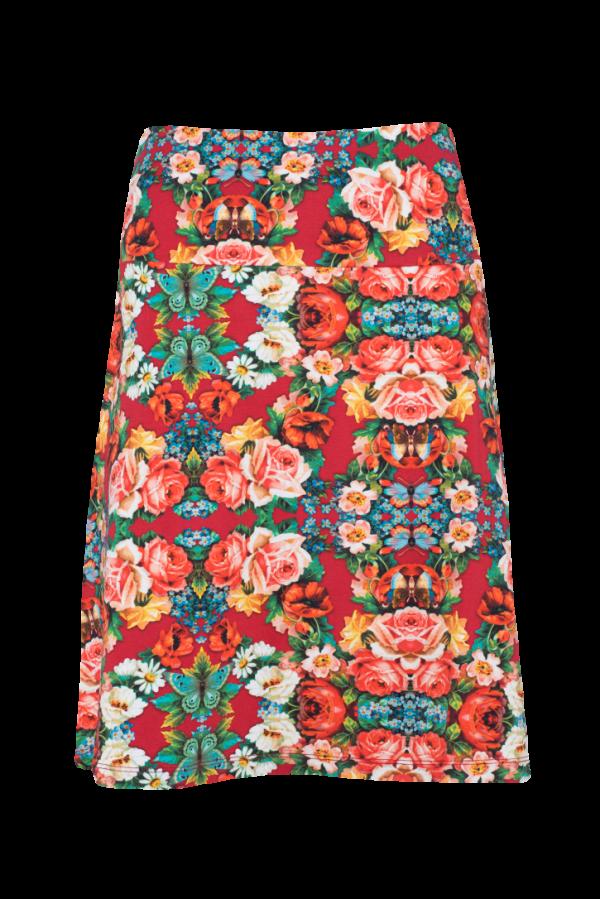 A-Line Skirt Rose (LASU 2163) Skirts Image 3