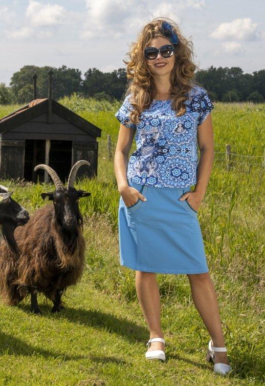 A-Line Skirt Kangaroo Plain CO (LASU 2183) Skirts Image