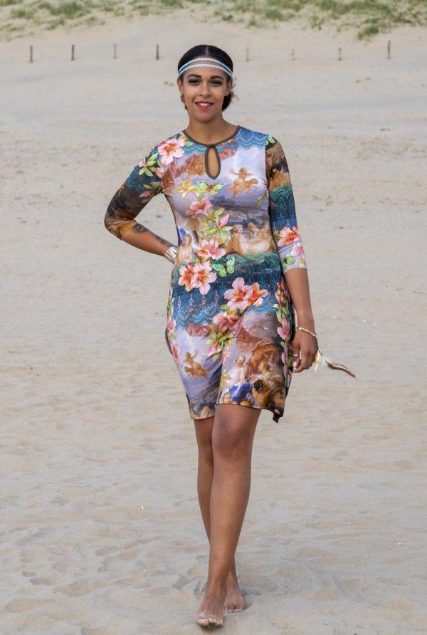 Flared Dress High Neck Venus (LASU 2111) Dresses Image