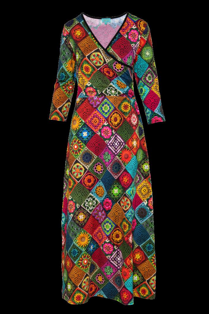 Long Classic Cross Dress (LAWI_2110) Dresses Winter 21 Image