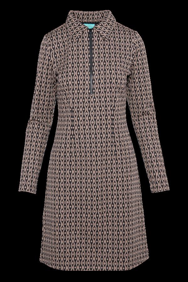 Zipper Dress Eye (LAWI_2170) Dresses Winter 21 Image 4
