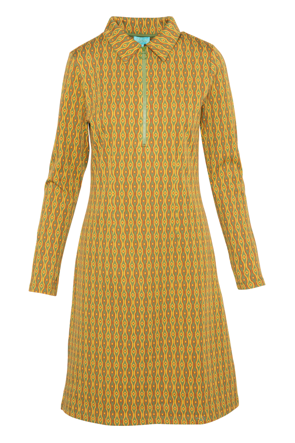 Zipper Dress Eye (LAWI_2170) Dresses Winter 21 Image