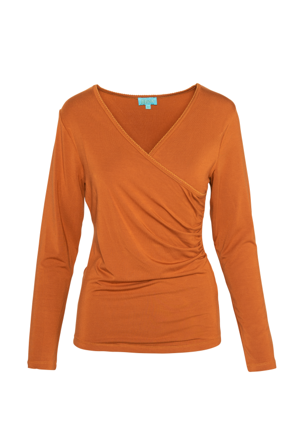Wrap Shirt Plain (LAWI_2152) Singlets, Shirts & Sweaters Winter 21 Image 4