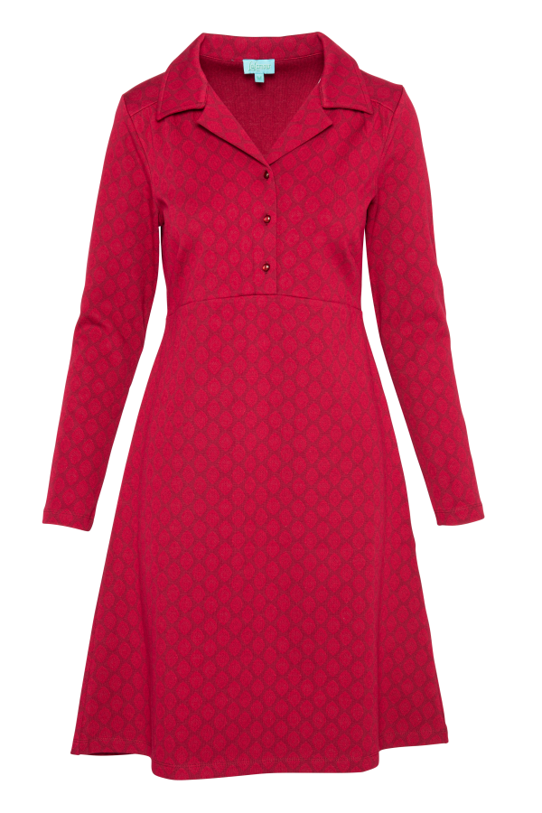 Collar Dress Drop (LAWI_2160) Dresses Winter 21 Image 3